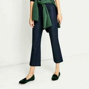 Dark Green Velvet Loafers